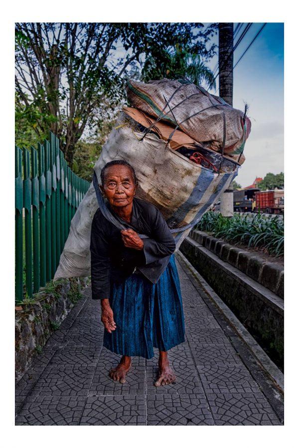 Print der Müllfrau