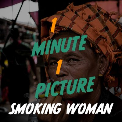 Smoking Woman - 1 Picture 1 Minute